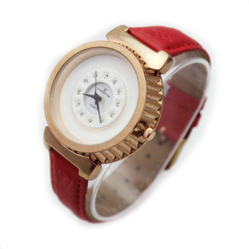 Girls Colorful Fashion Leather Wristbands Watch
