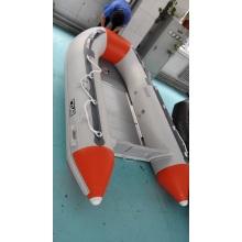 PVC / Hypalon barco inflável com piso de alumínio