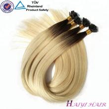 Alibaba Экспресс Оптовая продажа человеческих волос предварительно скреплять волосы расширения плоским наконечником волос