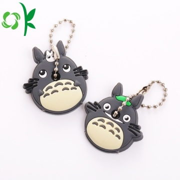 3D Cartoon Totoro Silicone Door / Car Key Cover