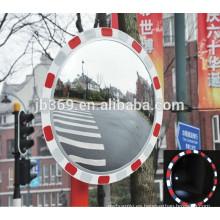 Espejo convexo reflectante de seguridad vial