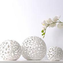 Ceramic Ball Shape Opal Lamp Shade