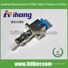 SC female ST male fiber adapter