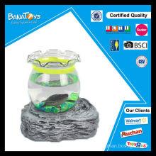 Funny led mini tortoise crab aquarium