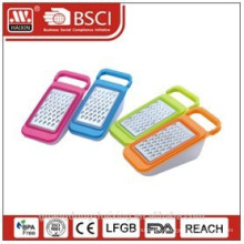 Plastic grater with container,cheese grater