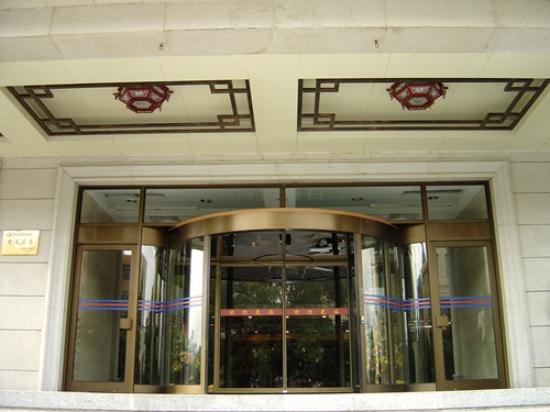 Two-wing Revolving Doors for Exterior Entrances