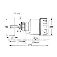 Interruptor de nível tipo parafuso NL30