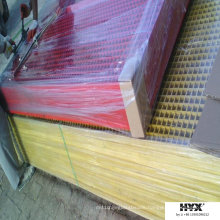 Light Weight Pultrusion Gratings Made by FRP