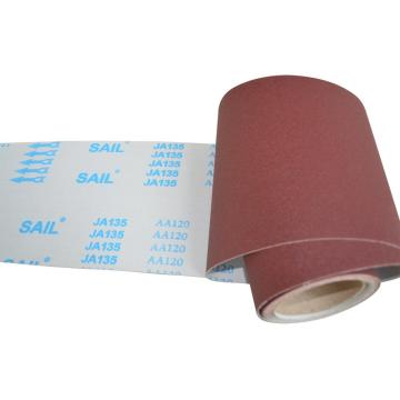 Machine Use Aluminum Oxide Emery Cloth Ja135
