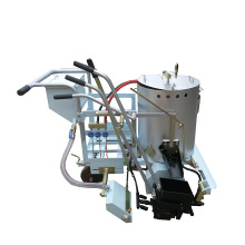 Save fuel manual thermoplastic kneading road marking paint machine