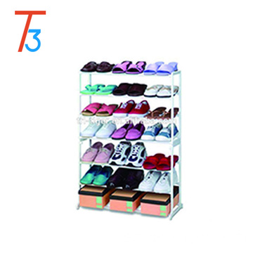 21 Pairs 7 Tier wall mounted over the door hanging shoe rack