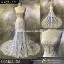 Fashion professional best turkish layered organza wedding gowns