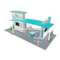 Oferta de Detian 20x30ft excelente design cabine de exposição de alumínio para alimentos para animais de estimação