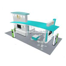 Detian offre 20x30ft excellent stand d'exposition en aluminium de conception pour la nourriture pour animaux de compagnie