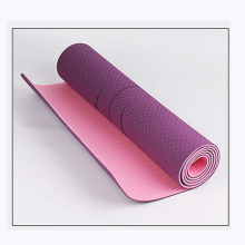 TPE Natural Rubber Yoga Mat, Non-Slip Fitness Sports Mat