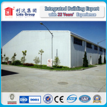 Hangar en acier de construction / garage / entrepôt