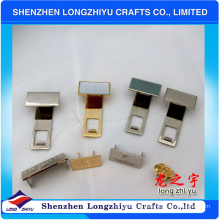 Insignias de metal para bolsos Insignia de pin protector de oro