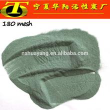 Pulverização em pó verde abrasivos de carboneto de silício preto