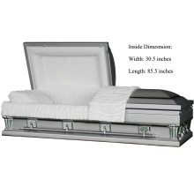 Frank Silver Oversize 31 Inches Casket