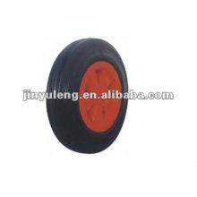 rueda de goma sólida