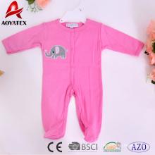 Super cute cartoon 100% cotton simple design infants toddlers clothing baby rompers