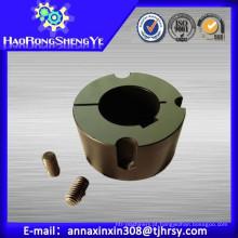 Bucha de trava cônica com material ferro fundido GG22-25 e aço C45