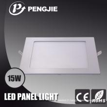 Plafonnier blanc de 15W LED pour la maison