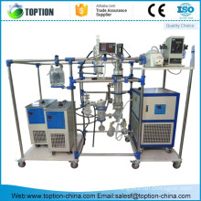 TWF125-10 Professinal short path distillation equipment for essential oil separation