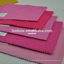 Rosa Frauen 90% Wolle Nylon Mischgewebe für Mantel