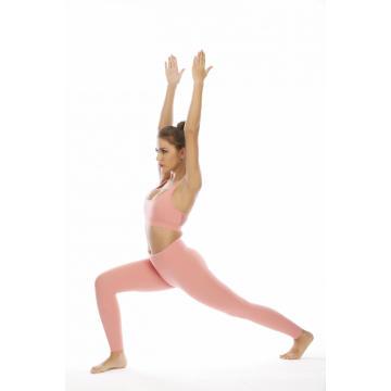 Leggings para ioga de cintura alta e sutiãs esportivos femininos