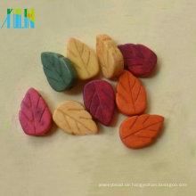 Neuankömmlinge Mode verschiedene Farbe Blätter Form Türkis Edelstein Perlen