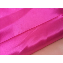 Cheap price wholesale brillant polyester satin tissu pour les ensembles de literie