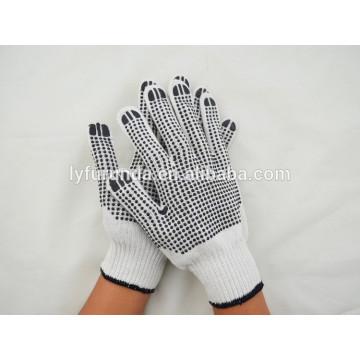 Der Porzellanlieferant der PVC punktiert Handarbeitshandschuhe