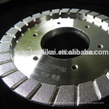 high quality electroplated brake pad diamond grinding wheel