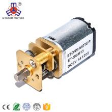 Motor del engranaje del motor n30 del engranaje de 3v 6v 50rpm para la válvula eléctrica