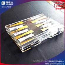 Boîte de jeu d'affichage en acrylique