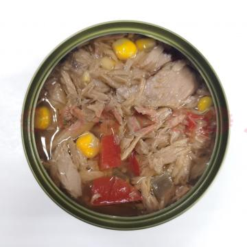 Tuna Canned In Oil With Pepper And Chili