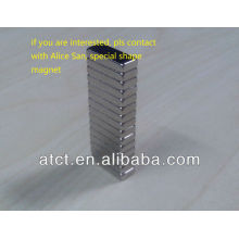 Ndfeb odd ladder-shaped sintered with R0.3 magnets