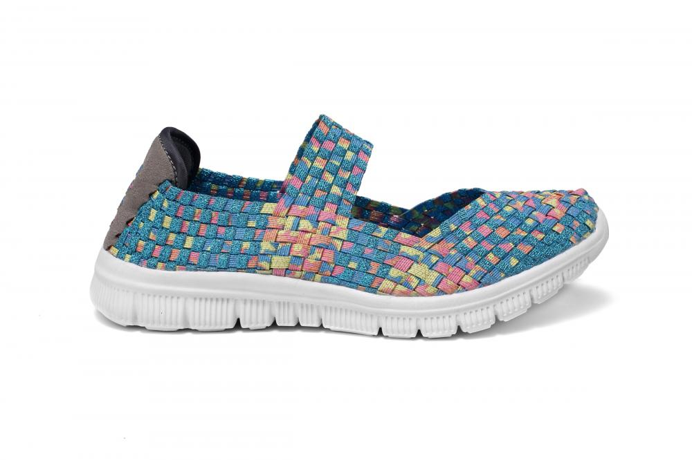 Colorful Woven Outdoor Dance Shoes