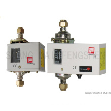 Differential pressure controls switches