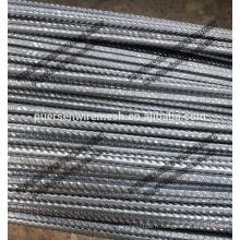 CRB550 Matériaux de construction à barres déformées à barres d'armature à l'acier laminé à froid