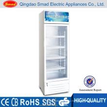 дисплей счетчика коммерческого сок одной двери холодильник с замком и ключом