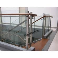 Verre trempé clair de flotteur pour la table / escaliers / balcon / meubles