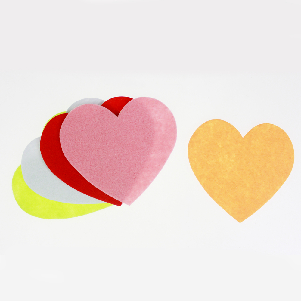 lovely Felt heart