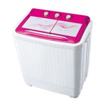 máquina de lavar roupa de corpo de plástico Semi-Automática máquina de lavar roupa de cobre