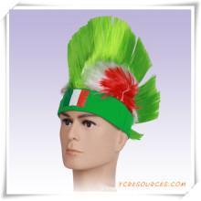 Кубок мира футбольных фанатов флаг афро парик в качестве подарка Промотирования (PF14003)