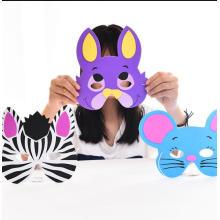 Máscara de animal 3D, máscara de eva, hacer tu propia máscara