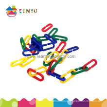 Plastic Linking Triing Counting Chain Toy (K004)