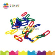 Пластиковая сортировка и подсчет цепочек игрушек / пластмассовых звеньев (K004)