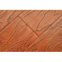 Tiefe und schwere Prägung Geprägte natürliche europäische Farbe Laminatboden